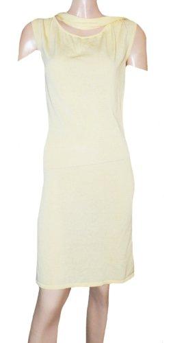Escada Sport Off-The-Shoulder Dress pale yellow viscose