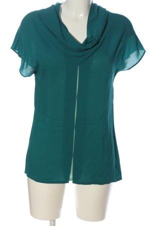 Escada Sport Kurzarm-Bluse grün Casual-Look