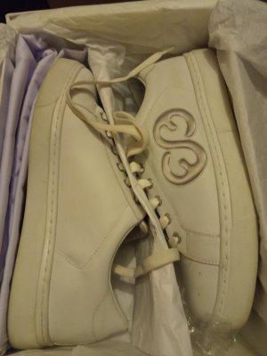 Escada Sport, Leder-Sneaker, Gr. 39