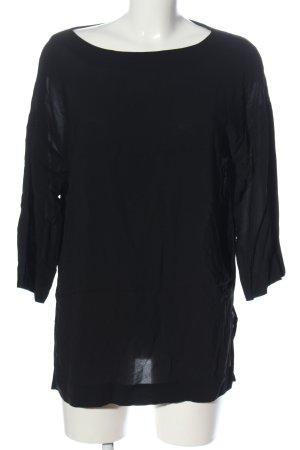 Escada Sport Lange blouse zwart casual uitstraling