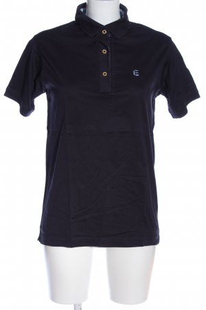 Escada Sport Polo-Shirt schwarz Casual-Look