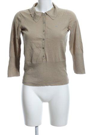 Escada Sport Polo shirt khaki casual uitstraling