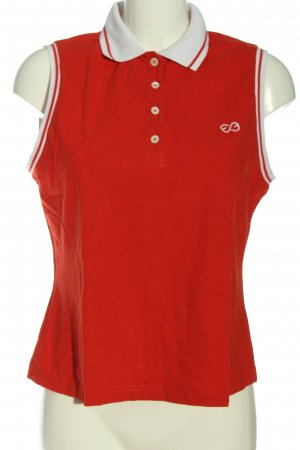 Escada Sport Polo Top rot Casual-Look
