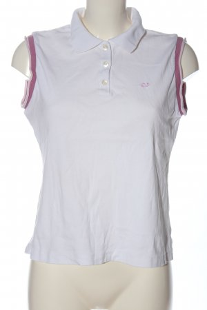 Escada Sport Polo Top weiß Casual-Look