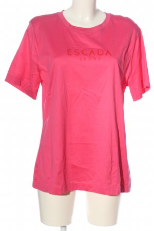 Escada Sport Print-Shirt pink Casual-Look