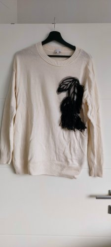 Escada Sport Knitted Sweater black-natural white