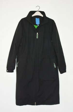 Escada Between-Seasons-Coat black-green mixture fibre