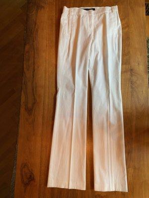Escada Sport, schicke Marlenehose in Weiß, lang, streckt die Beine, elegant