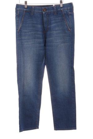 Escada Sport Slim Jeans stahlblau Casual-Look