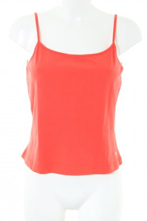 Escada Sport Spaghettiträger Top rot Casual-Look