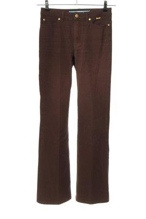 Escada Sport Jeansy z prostymi nogawkami brązowy W stylu casual