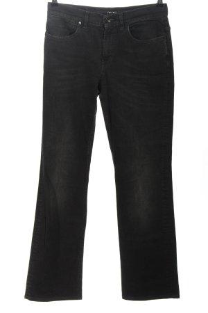 Escada Sport Straight-Leg Jeans schwarz Casual-Look