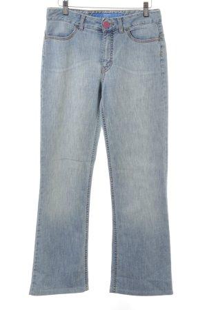 Escada Sport Jeansy z prostymi nogawkami chabrowy W stylu casual