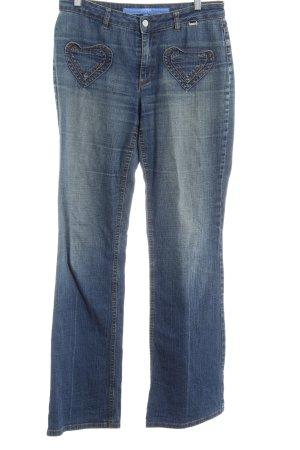 Escada Sport Jeansy z prostymi nogawkami Wielokolorowy Ekstrawagancki styl