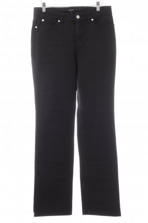 Escada Sport Straight-Leg Jeans schwarz Casual-Look