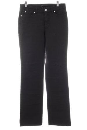 Escada Sport Jeansy z prostymi nogawkami czarny W stylu casual