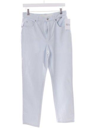 Escada Sport Stretch Jeans hellblau Street-Fashion-Look