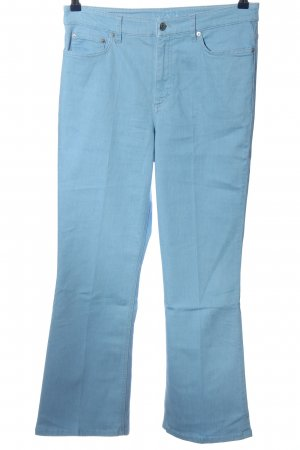 Escada Sport Stretchhose blau Casual-Look