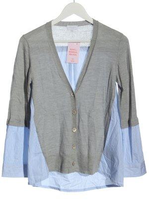 Escada Sport Knitted Cardigan light grey-blue flecked casual look
