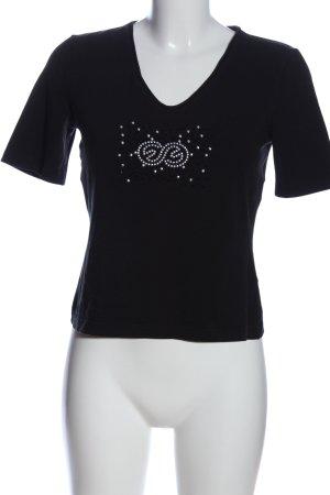 Escada Sport T-Shirt schwarz Casual-Look