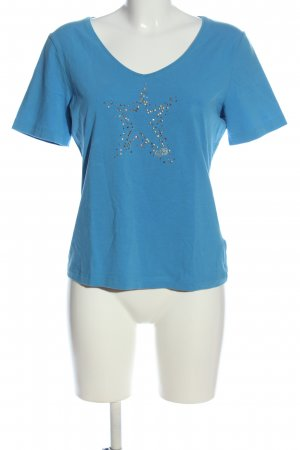 Escada Sport T-Shirt blau Casual-Look
