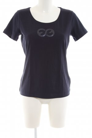 Escada Sport T-Shirt blau Casual-Look