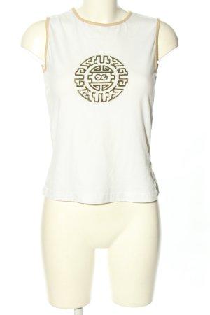 Escada Sport Camiseta sin mangas estampado con diseño abstracto look casual