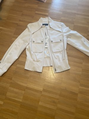 Escada Sport wunderschöne kurze Jacke in Wollweiss