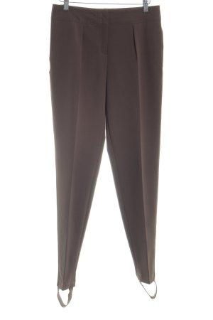 Escada Pantalone sfoderato marrone stile classico