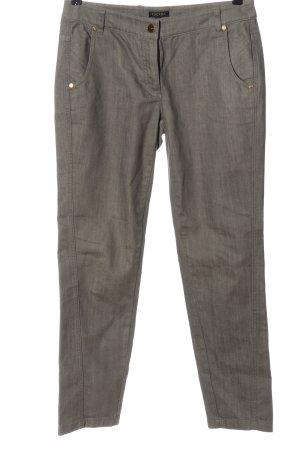Escada Straight-Leg Jeans hellgrau Casual-Look