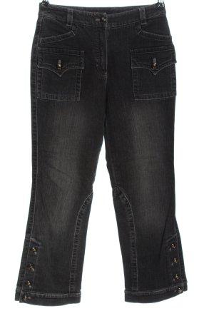 Escada Straight-Leg Jeans schwarz Casual-Look