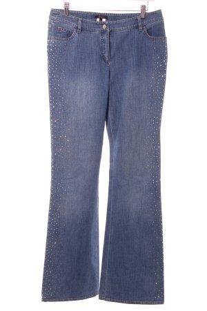 Escada Straight-Leg Jeans blau Casual-Look