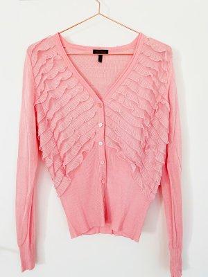 Escada Cardigan rose-rose clair tissu mixte