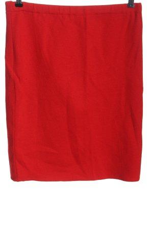 Escada Jupe tricotée rouge style décontracté