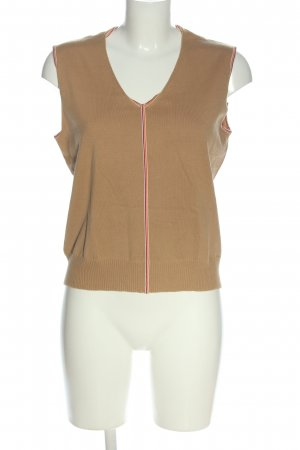 Escada Knitted Vest striped pattern casual look