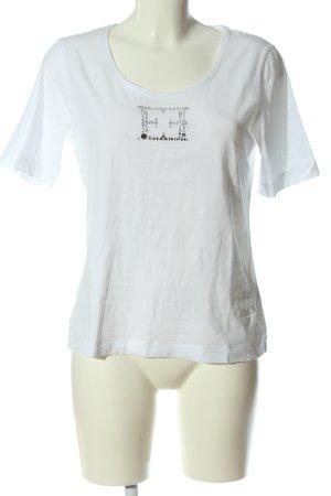 Escada T-shirt bianco stile casual