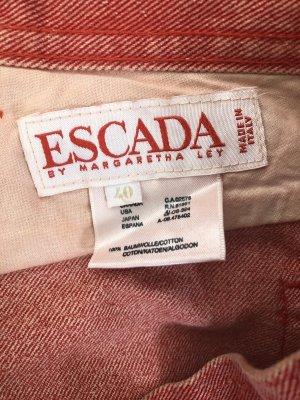 Escada Wortel jeans rood-goud