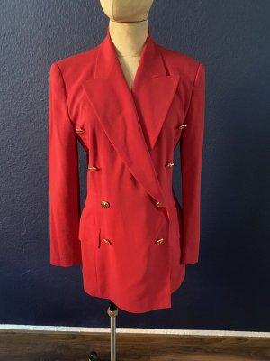 Escada Vintage Blazer Wolle Doppelreiher Gr. 38 top