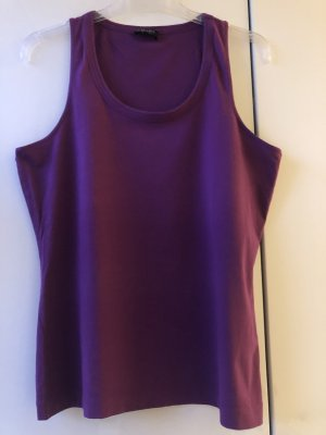 Escada Top long violet foncé