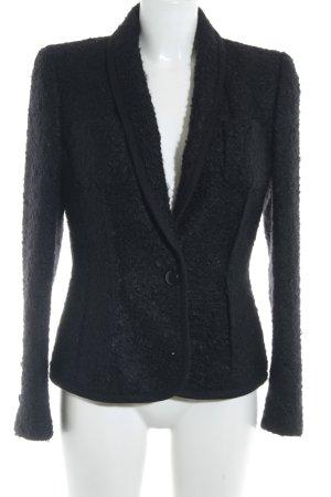 Escada Woll-Blazer schwarz klassischer Stil