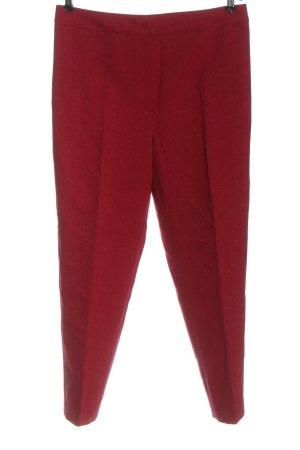 Escada Pantalon en laine rouge style décontracté
