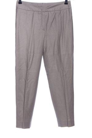 Escada Pantalone di lana grigio chiaro stile professionale