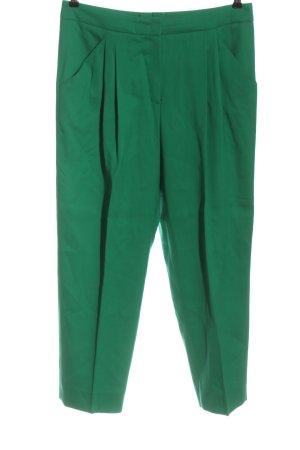 Escada Pantalon en laine vert style d'affaires