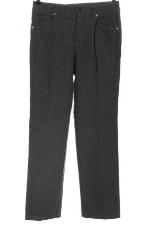 Escada Woolen Trousers light grey flecked casual look