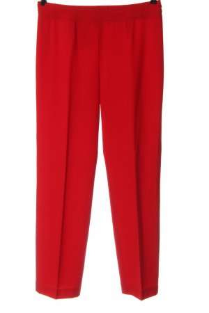 Escada Woolen Trousers red business style