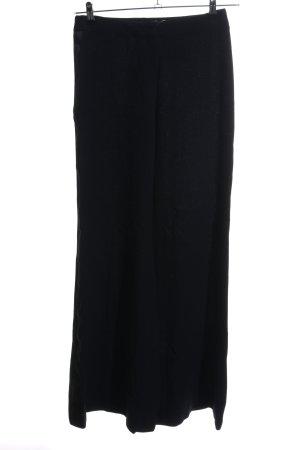 Escada Pantalon en laine noir style d'affaires