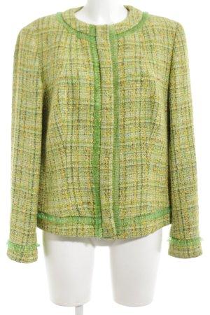 Escada Chaqueta de lana verde-amarillo pálido estilo «business»