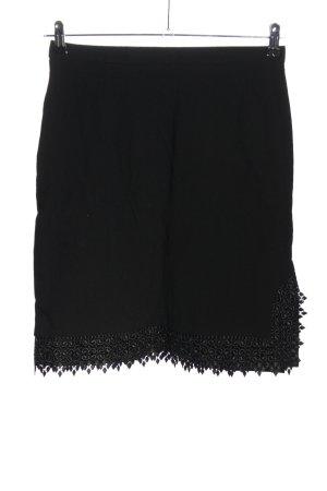 Escada Wollen rok zwart casual uitstraling
