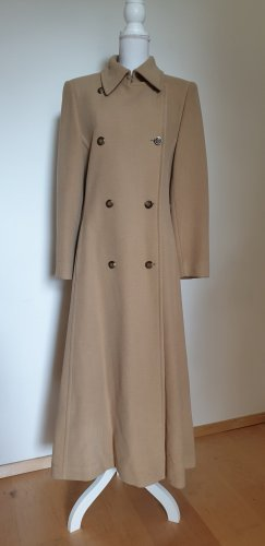 Escada Coat Dress brown-camel