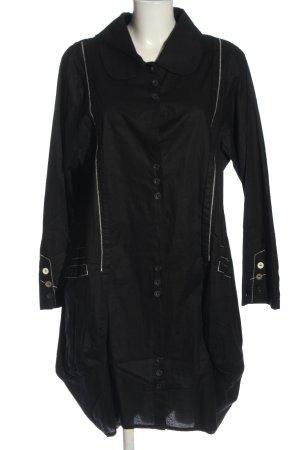 Escaladya Blusenkleid schwarz Casual-Look